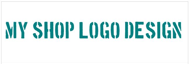 ショップロゴ例3